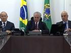 Michel Temer anuncia construção de presídios para detentos perigosos