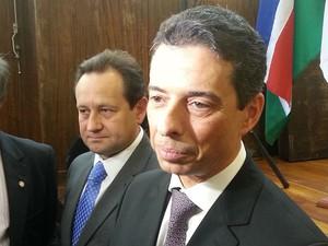 Presidente do TJMG fala sobre afastamento de magistrado de Juiz de Fora (Foto: Nathalie Guimarães/G1)