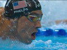 Phelps vai à final dos 200m borboleta; nadador é adepto da 'ventosaterapia'