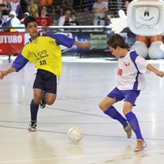 Copa TV Tribuna de Futsal Escolar  (Foto: José Luiz Borges)