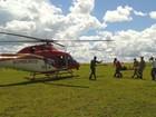 Homem fica ferido ao cair de parapente em Terezópolis de Goiás