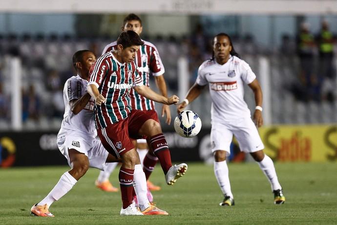 Conca Fluminense x Santos (Foto: Ricardo Saibun / Photocâmera)