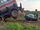 Após quatro dias, vítimas de acidente em Taciba seguem internadas no HR