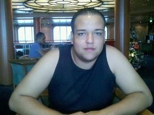 David Rodrigo Morais foi encontrado morto em banheiro de navio (Foto: Acervo pessoal)