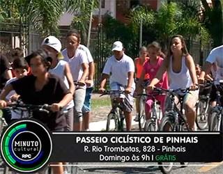Passeio Ciclístico de Pinhais - Minuto Cultural (Foto: Divulgação)