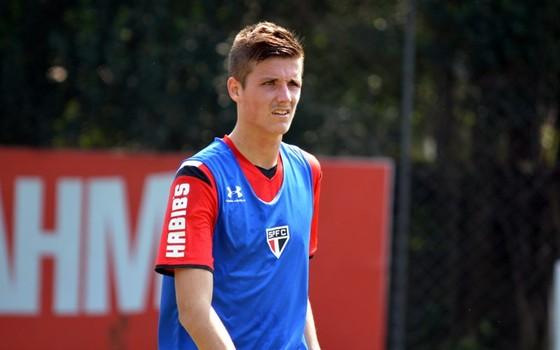 Iago Maidana, lateral do São Paulo (Foto: Érico Leonan / São Paulo FC)