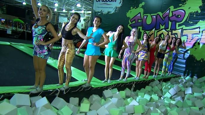Candidatas do Musa do Goianão (Foto: Reprodução/TV Anhanguera)