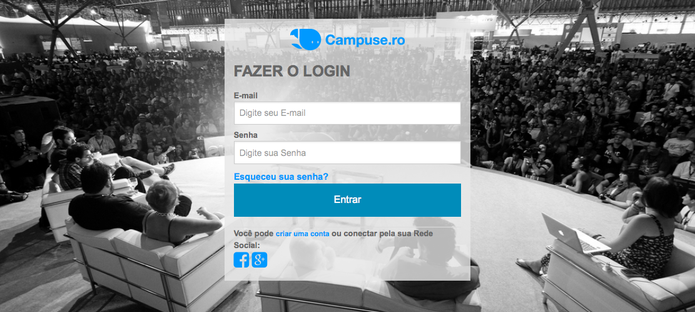 Campuse.ro, plataforma permite assistir palestras da Campus Party Online (Foto: Reprodução/CampusParty)