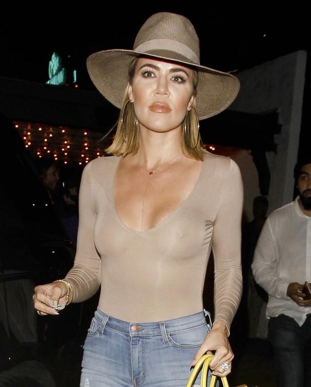 Khloe Kardashian em Los Angeles, nos Estados Unidos (Foto: Grosby Group/ Agência)