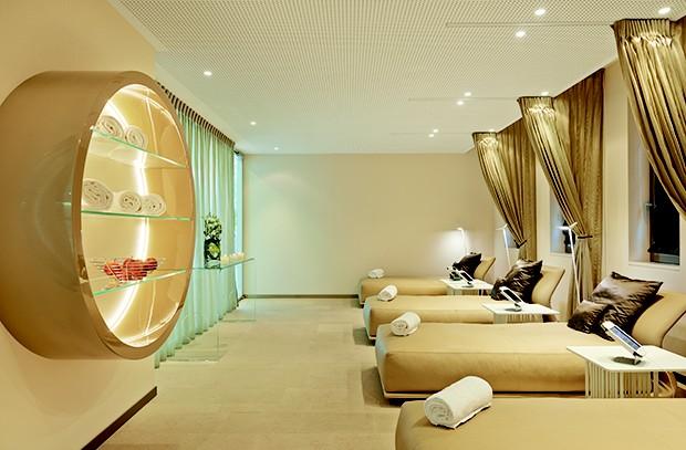 Sala de relaxamento (Foto: Divulgação)