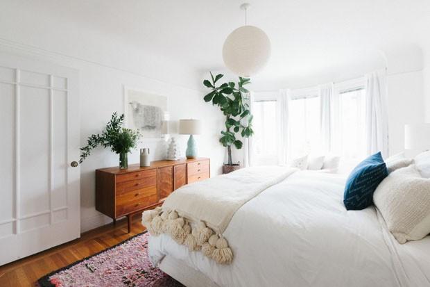 paisagismo-plantas-no-quarto-4 (Foto: Homepolish)
