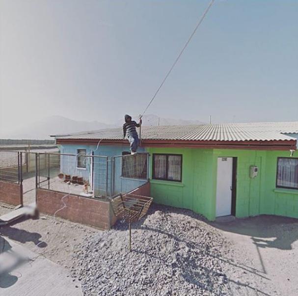 Jacqui Kenny tem preferência por países de clima árido e desértico (Foto: reprodução Instagram @streetview.portraits)
