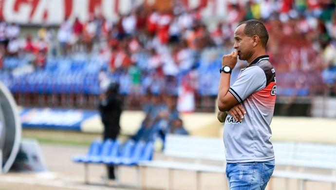 Técnico do Santa Rita, Jaelson Marcelino (Foto: Ailton Cruz/Gazeta de Alagoas)