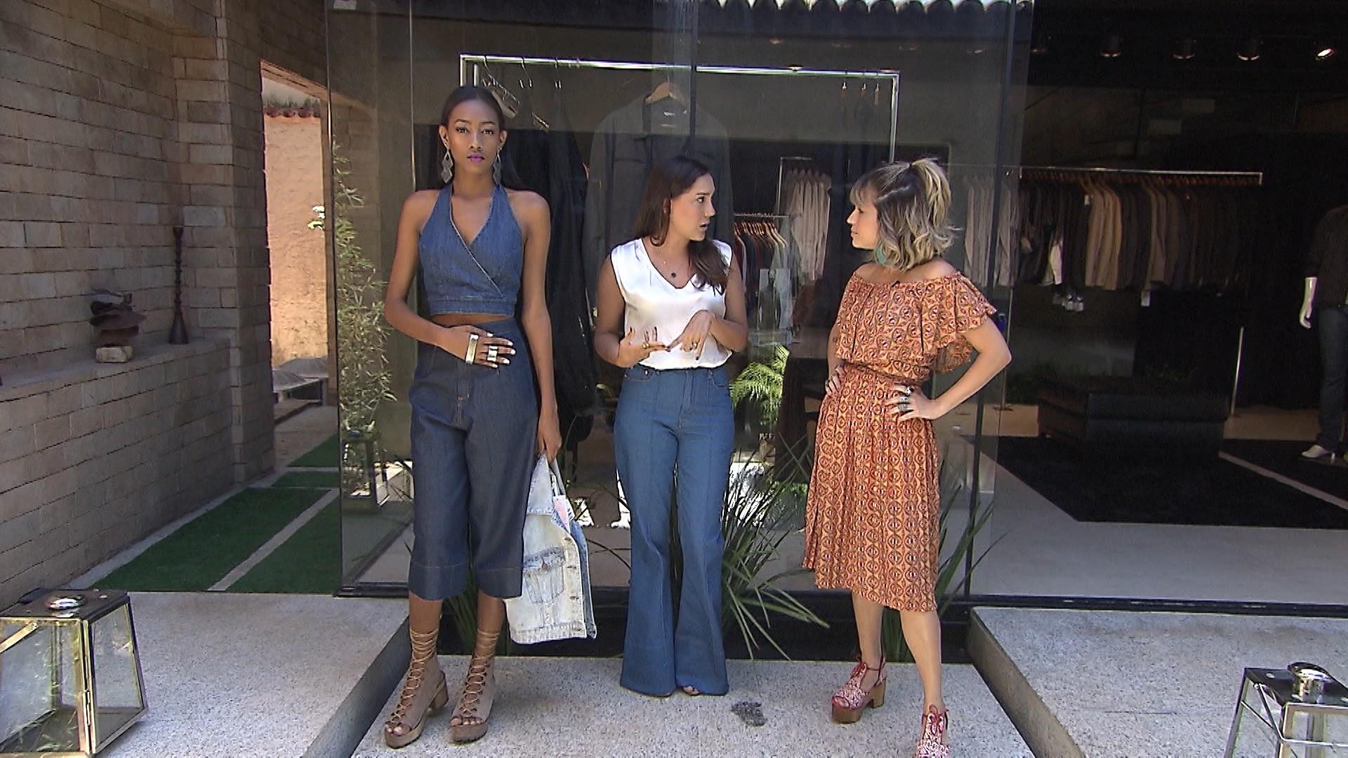 A jornalista Camila Gaio dá dicas de como usar a pantacourt (Foto: Divulgação)