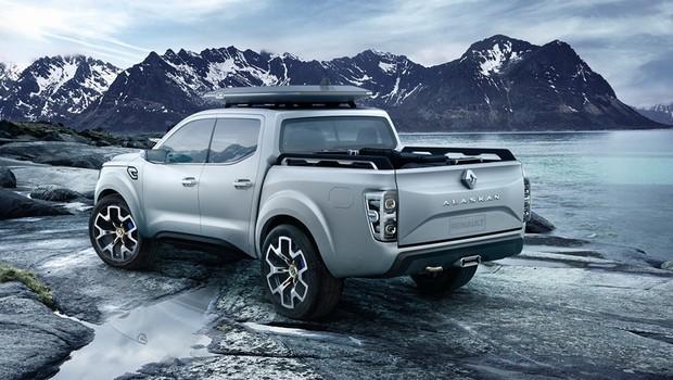 Renault Revela novo conceito de picape global, Alaskan