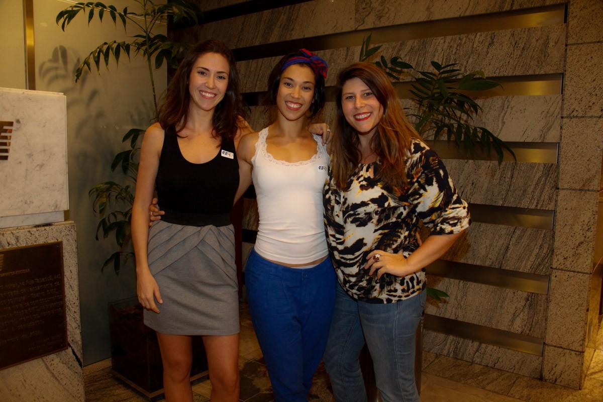 Clarissa Mayoral, Paula Miessa e Vanessa Goulart (Foto: Marcos Ribas/Foto Rio News)