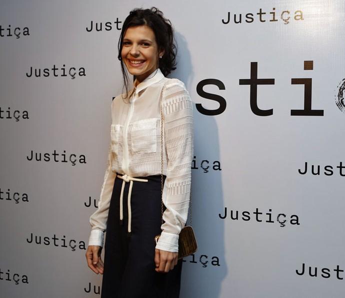 Giovana Echeverria interpreta a estudante Vanessa em Justiça (Foto: Ellen Soares/Gshow)