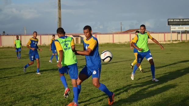 Boca Júnior-SE (Foto: Felipe Martins / GLOBOESPORTE.COM)