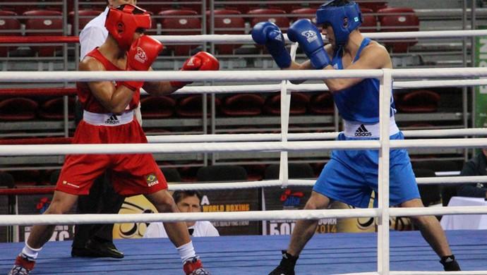 Cássio é eliminado do Mundial de Boxe (Foto: Divulgação/CBBOXE)