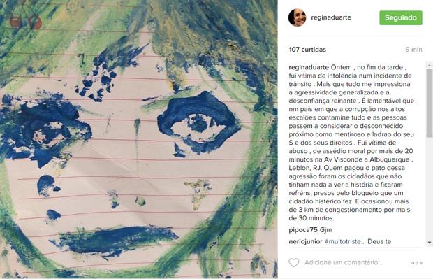 Regina Duarte (Foto: Reprodução/ Instagram)