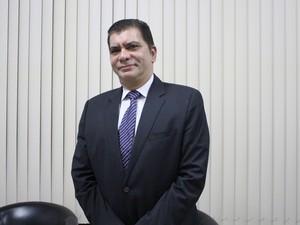 Candidato à Prefeitura de Palmas, Amastha (Foto: Cyntia Miranda/G1)