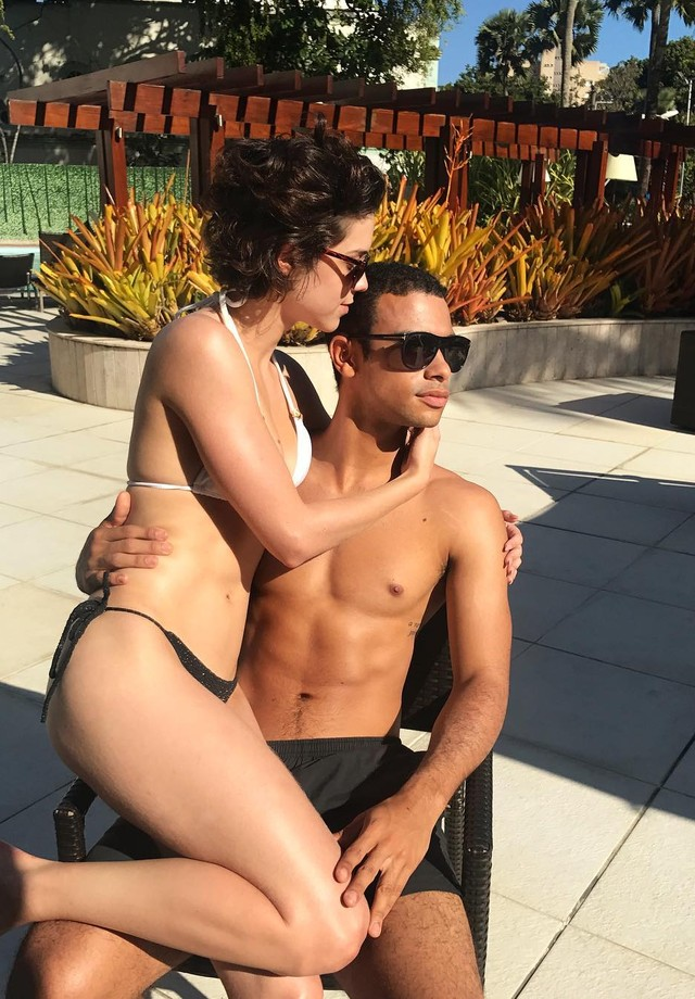 Sophia e o namorado, Sérgio Malheiros (Foto: reprodução/Instagram)