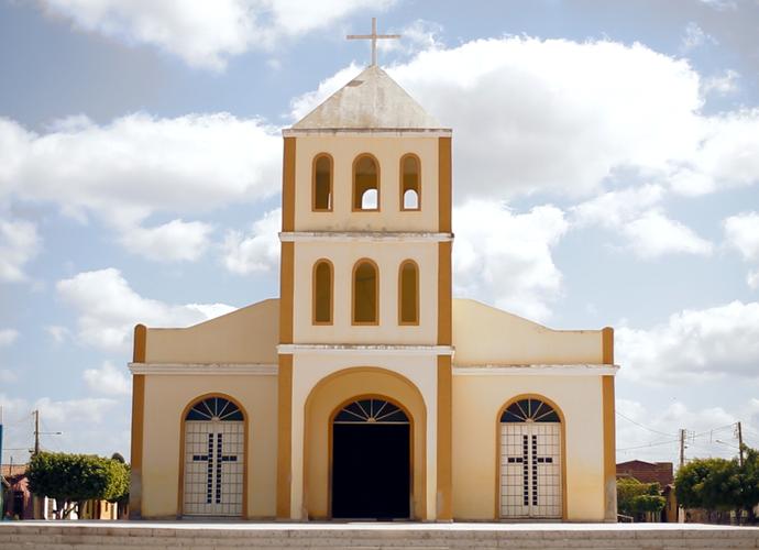 Igreja de Jandaíra - RN (Foto: Sérgio Luis / Divulgação)