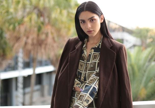 Marcela Thomé é um dos destaques da São Paulo Fashion Week (Foto: Arthur Vahia/Glamour)