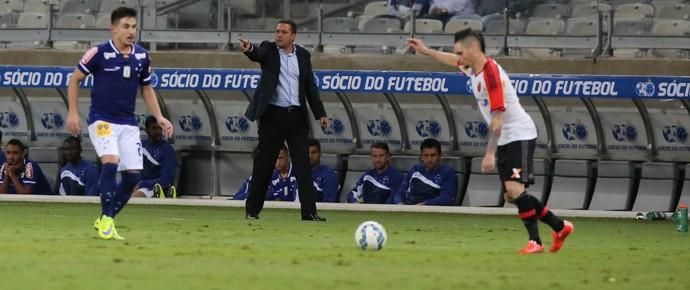 Pará Willian Vanderlei Luxemburgo Cruzeiro x Flamengo Mineirão (Foto: Flávio Tavares/Agência Estado)