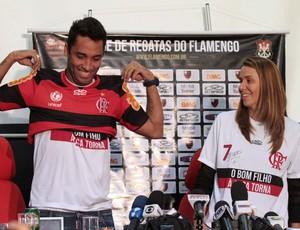 Ibson Patrícia Amorim Flamengo (Foto: Fernando Azevedo / Fla Imagem)