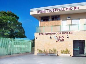 Hospital Pio XII em São José dos Campos (Foto: Divulgação/ Hospital Pio XII)