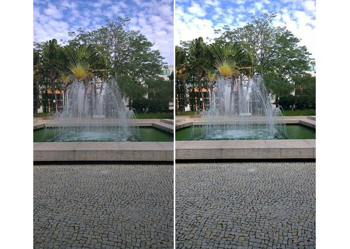 Confira como fotos podem ser diferentes (Foto: Thiago Barros/Reprodução)