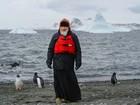 Patriarca russo visita Antártida e colônia de pinguins