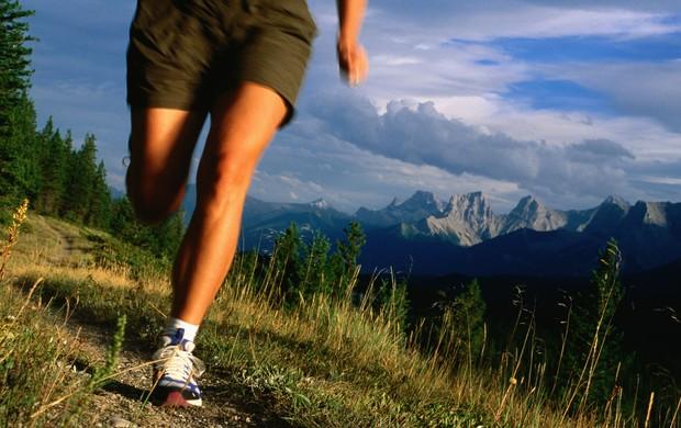 Correndo na montanha euatleta (Foto: Agência Getty Images)