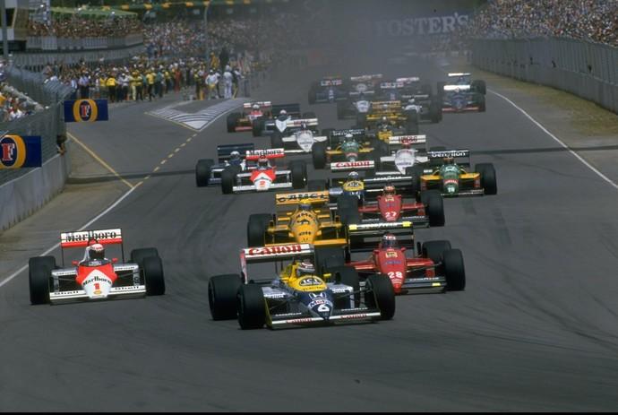 Fórmula 1 - GP da Austrália 1987 (Foto: Getty images)
