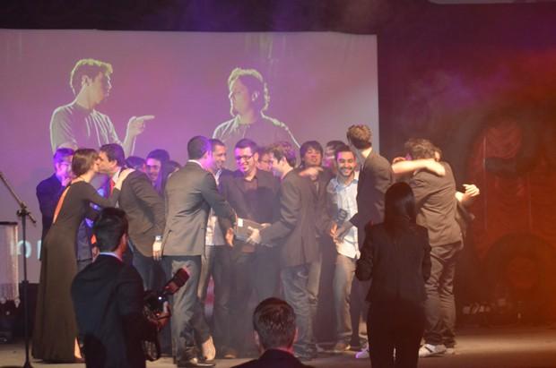 A produção 'Vestibular Uniso Barbixas 2012' foi eleita a melhor Campanha (Foto: Fabiana de Paula / Globo.com)