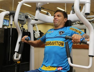 Bolivar botafogo treino (Foto: Satiro Sodré / Divulgação)