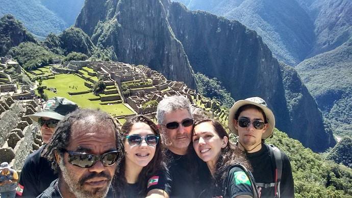 Grupo de Florianópolis viajou pela América do Sul em 28 dias (Foto: Istepôs Aventureiros/Divulgação)