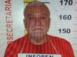 Antonio Rodrigues está detido no presídio de Pedra Azul (MG). (Foto: Divulgação / Polícia Civil)