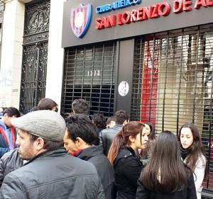 torcedores San lorenzo  (Foto: Daniel Mundim)