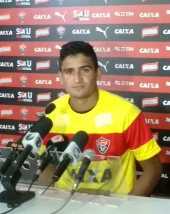 Ramon; Vitória; entrevista (Foto: Thiago Pereira)
