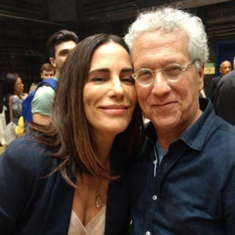 Gloria Pires e Sergio Fonta (Foto: Telma Souza)