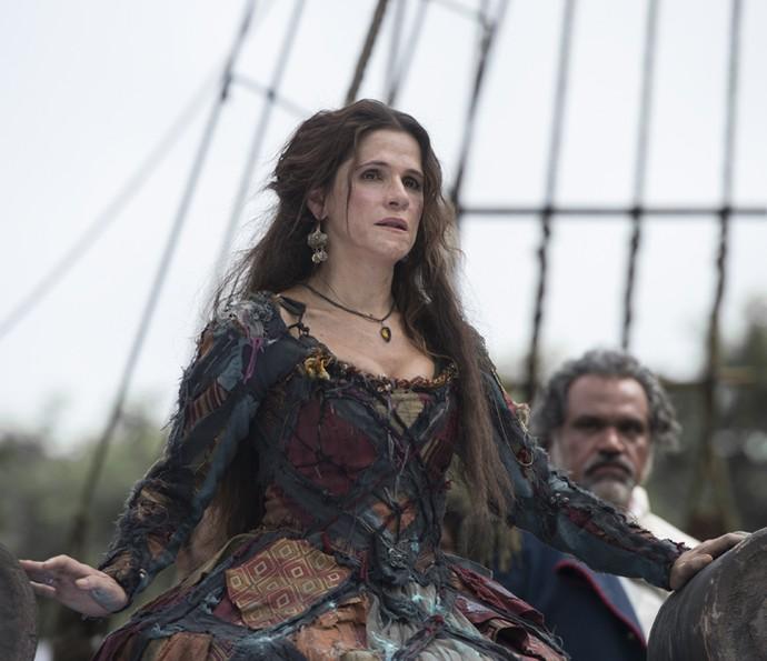Ingrid Guimarães será Elvira em 'Novo Mundo', nova novela das 6 (Foto: Globo/ Estevam Avellar)