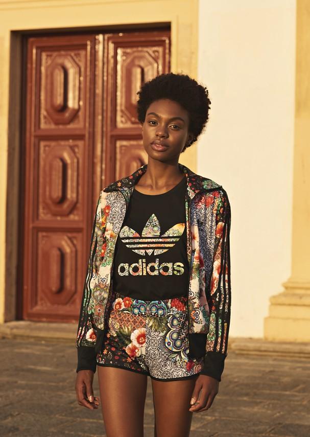 Nova coleção da Adidas com a Farm (Foto: Divulgação)
