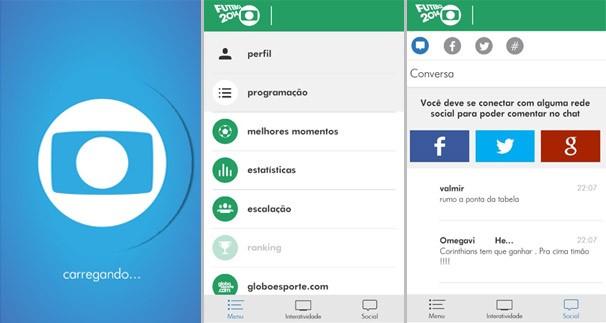 Aplicativo permite interatividade nas transmissões de jogos da TV Fronteira (Foto: Reprodução)