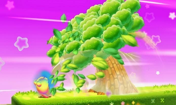Hypernova é a grande novidade de Kirby Triple Deluxe (Foto: Divulgação)