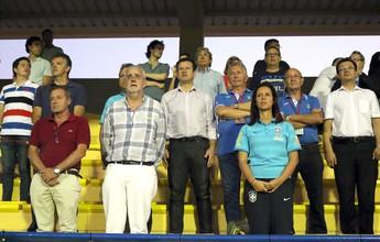 Sob os olhares de Dunga, sub-20 do Brasil empata a segunda e se complica