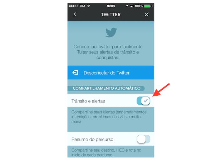 Saiba como vincular o Twitter ao Waze para tuitar alertas de