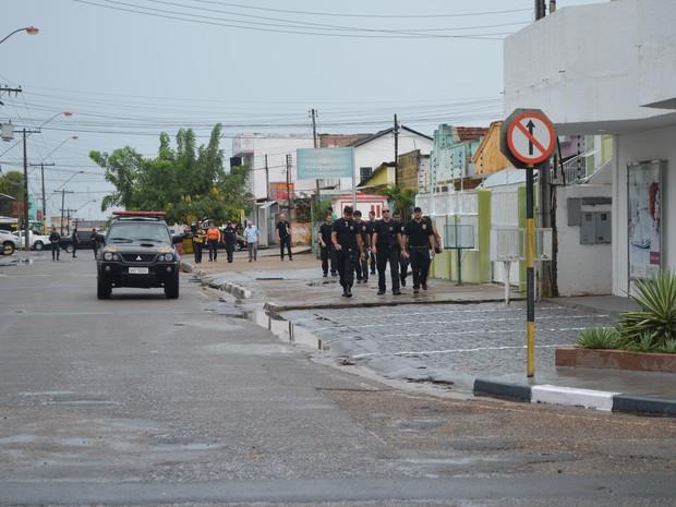PF faz operação contra o garimpo em Roraima (Foto: Inaê Brandão/G1 RR)