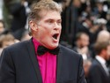 16/05/2013 - O ator David Hasselhoff chega para a exibição do filme 'Young and beautiful' no segundo dia do Festival de Cannes